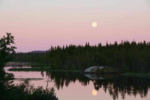 maan-middernachtzon