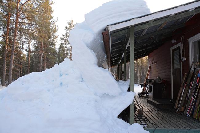 sneeuw-dak