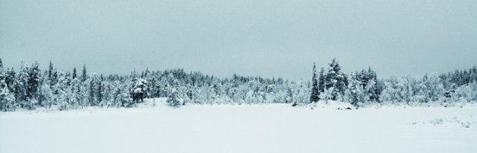 sneeuw-rivier